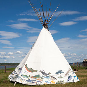 Buy Traditional 10oz Canvas Teepees