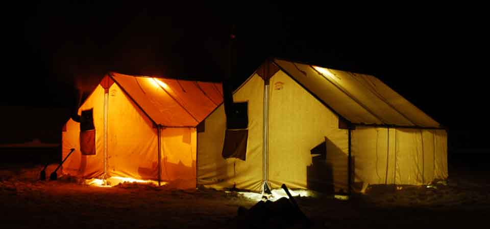 Arctic Tough Canvas Wall Tents