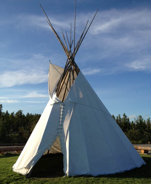 Traditional Canas Tipi for Sale & Traditional 10oz Canvas Tipis for Sale | Fort McPherson Tent