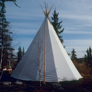 Large Sioux Canvas Teepee