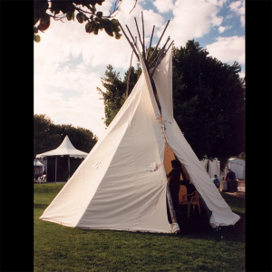 Traditional Canvas Tipi