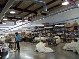 View of FMTC factory floor